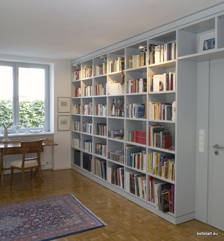 Bettstatt Manufaktur Inh Ulf Schmidt Bücherregalwand
