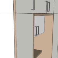 Schrankwand-Detail-Front